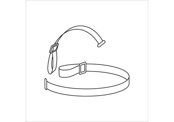 Petzl - Elastisches Strinband für Stirnlampe
