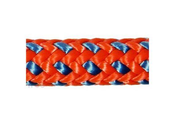 Teufelberger - Tachyon 11.5mm - Orange/Blau - 60 m (Endknoten)